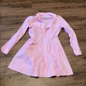 Polo pink button down